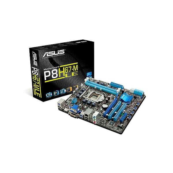 Asus P8H67-M LE B3 Micro-ATX DDR3 - Carte mère Asus - Cybertek.fr - 0