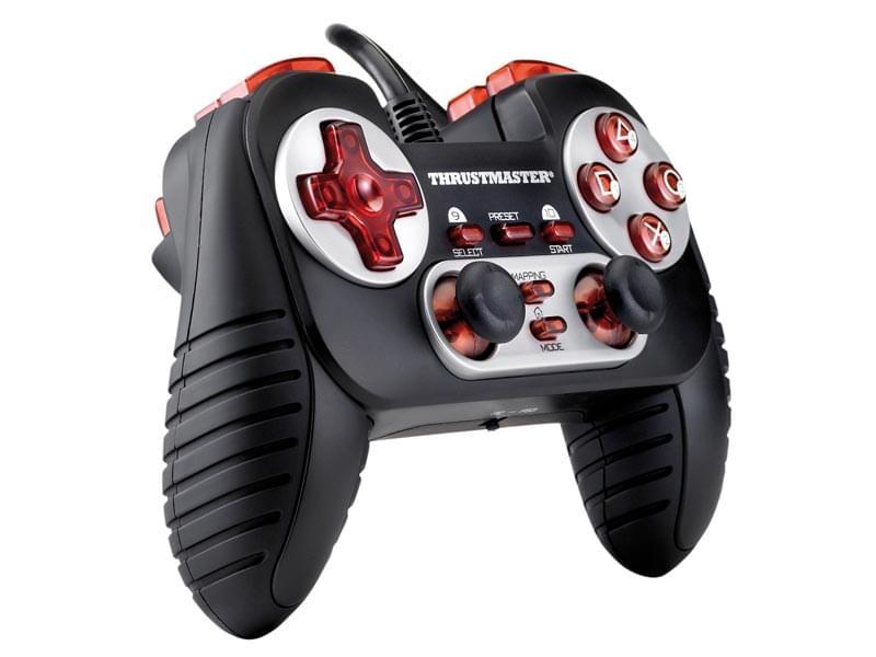 ThrustMaster Gamepad Dual Trigger 3-en-1 (2960701) - Achat / Vente Périphérique de Jeu sur Cybertek.fr - 0