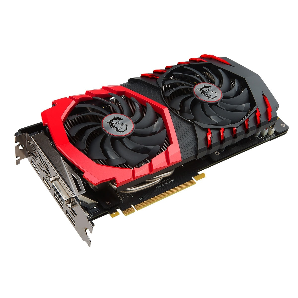 MSI GeForce GTX 1060 GAMING X 6G  (GeForce GTX 1060 GAMING X 6G ) - Achat / Vente Carte Graphique sur Cybertek.fr - 1
