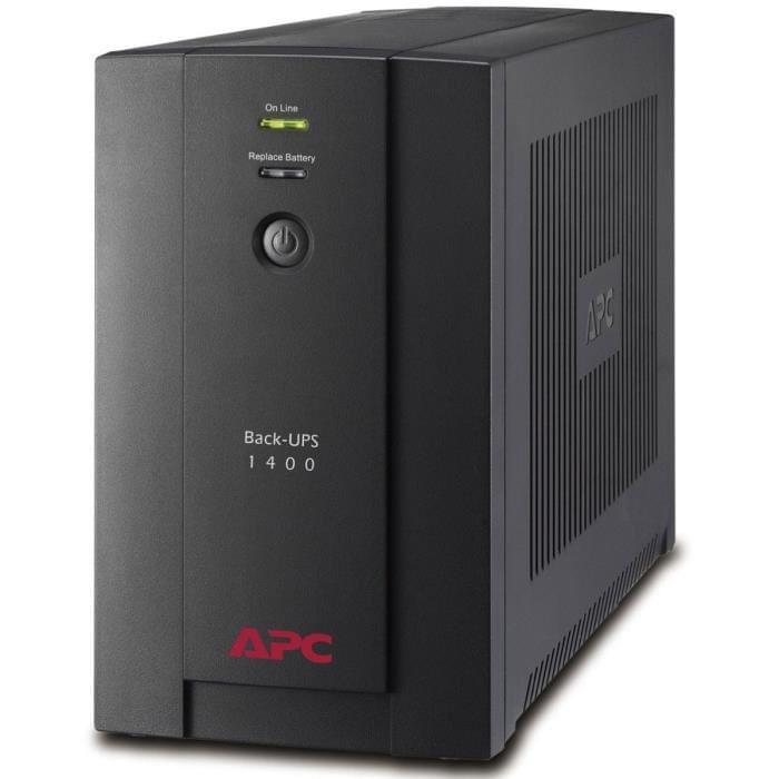 APC BACK-UPS 1400VA FR (BX1400U-FR) - Achat / Vente Onduleur - Multiprises sur Cybertek.fr - 0