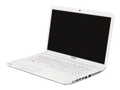 Toshiba C875-13J Blanc (PSCBCE-01R002FR) - Achat / Vente PC portable sur Cybertek.fr - 0