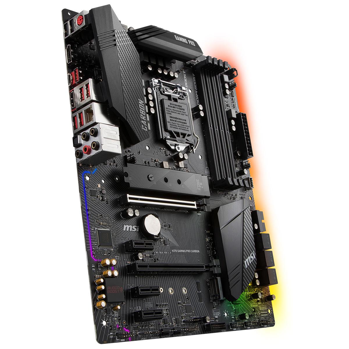 MSI H370 GAMING PRO CARBON ATX DDR4 - Carte mère MSI - Cybertek.fr - 3