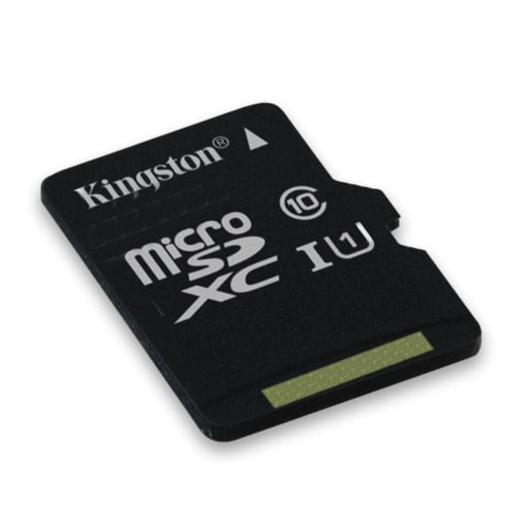 Kingston Micro SDXC 64Go Class 10 + Adapt SDC10G2/64GB - Carte mémoire - 0