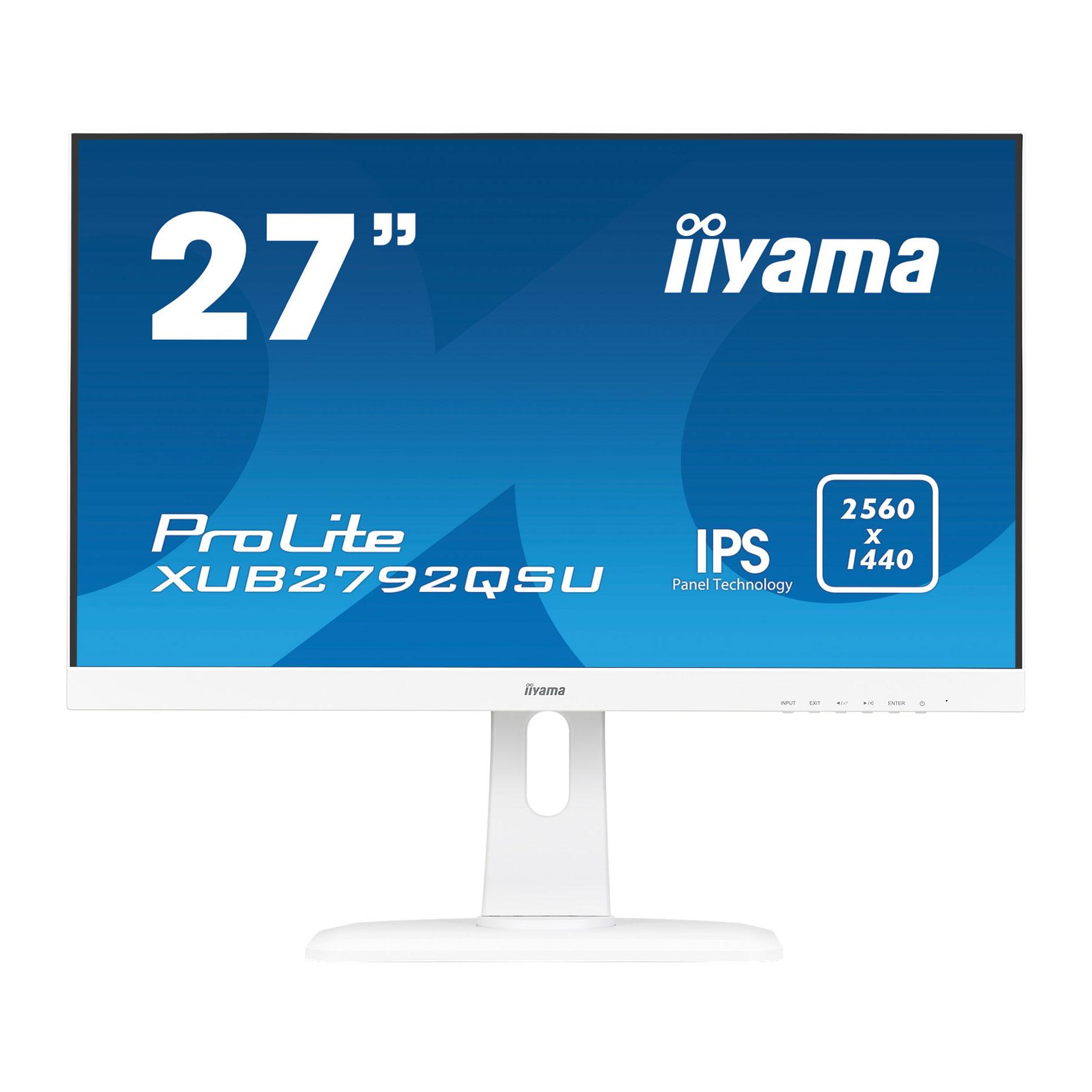 """Iiyama 27""""  XUB2792QSU-W1 - Ecran PC Iiyama - Cybertek.fr - 0"""