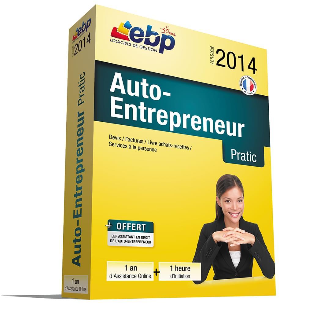 EBP Auto-Entrepreneur Pratic 2014 + Services VIP - Logiciel application - 0