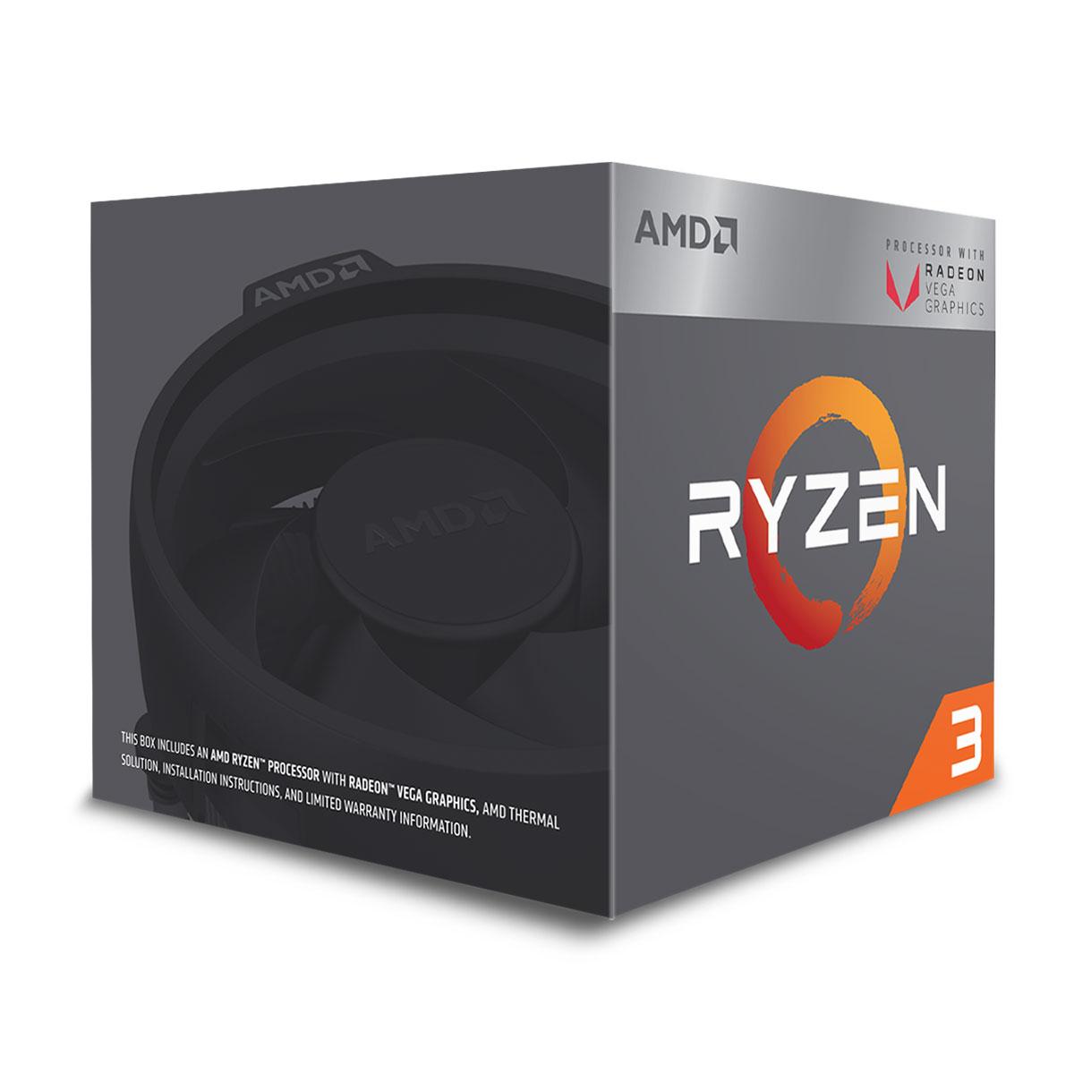 AMD Ryzen 3 2200G - 3.7GHz - Processeur AMD - Cybertek.fr - 0