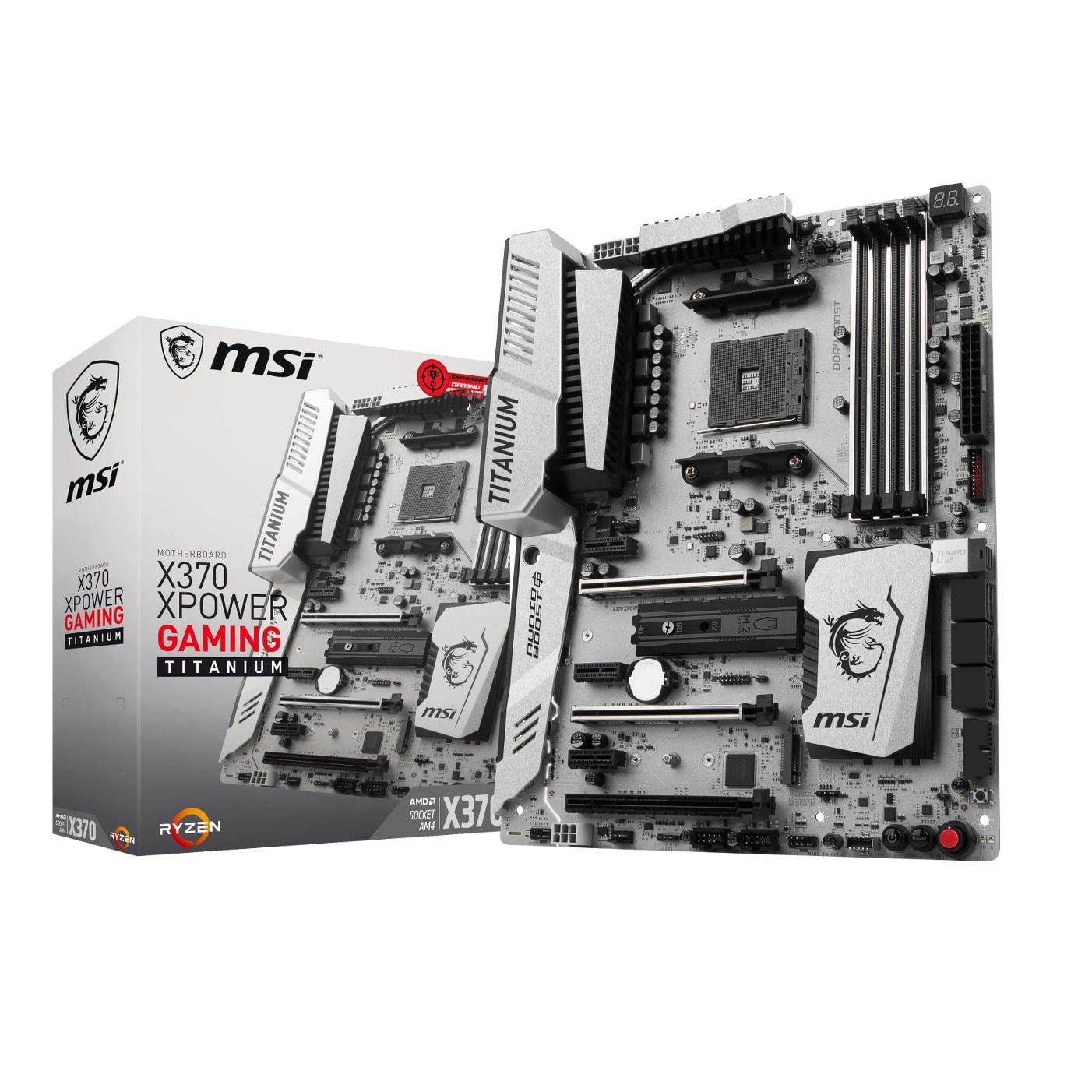 MSI X370 XPOWER GAMING TITANIUM ATX DDR4 - Carte mère MSI - 0