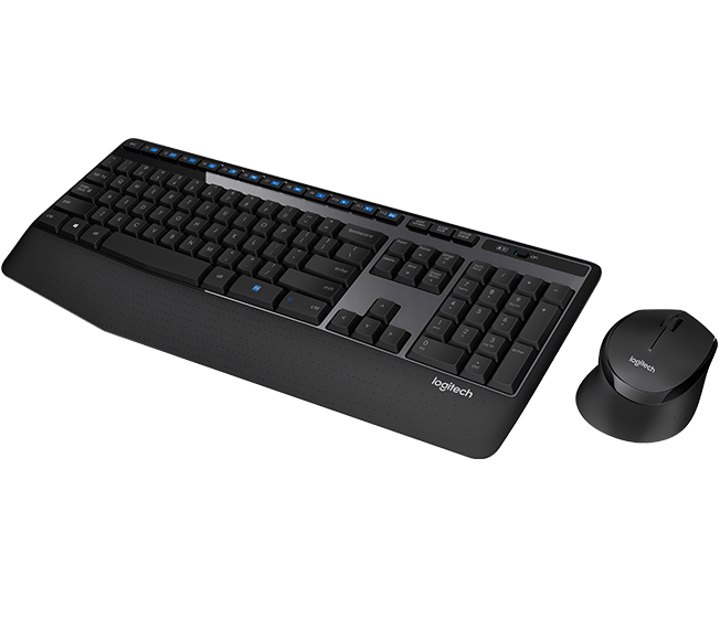 Logitech Wireless Combo MK345 - Pack Clavier/Souris - Cybertek.fr - 1