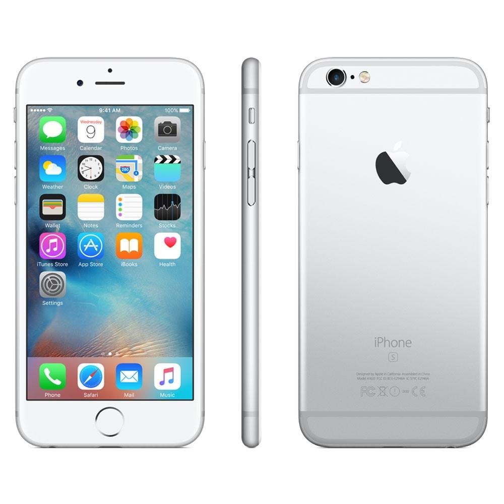 Apple iPhone 6s 16Go Argent  (MKQK2ZD/A) - Achat / Vente Téléphonie sur Cybertek.fr - 3