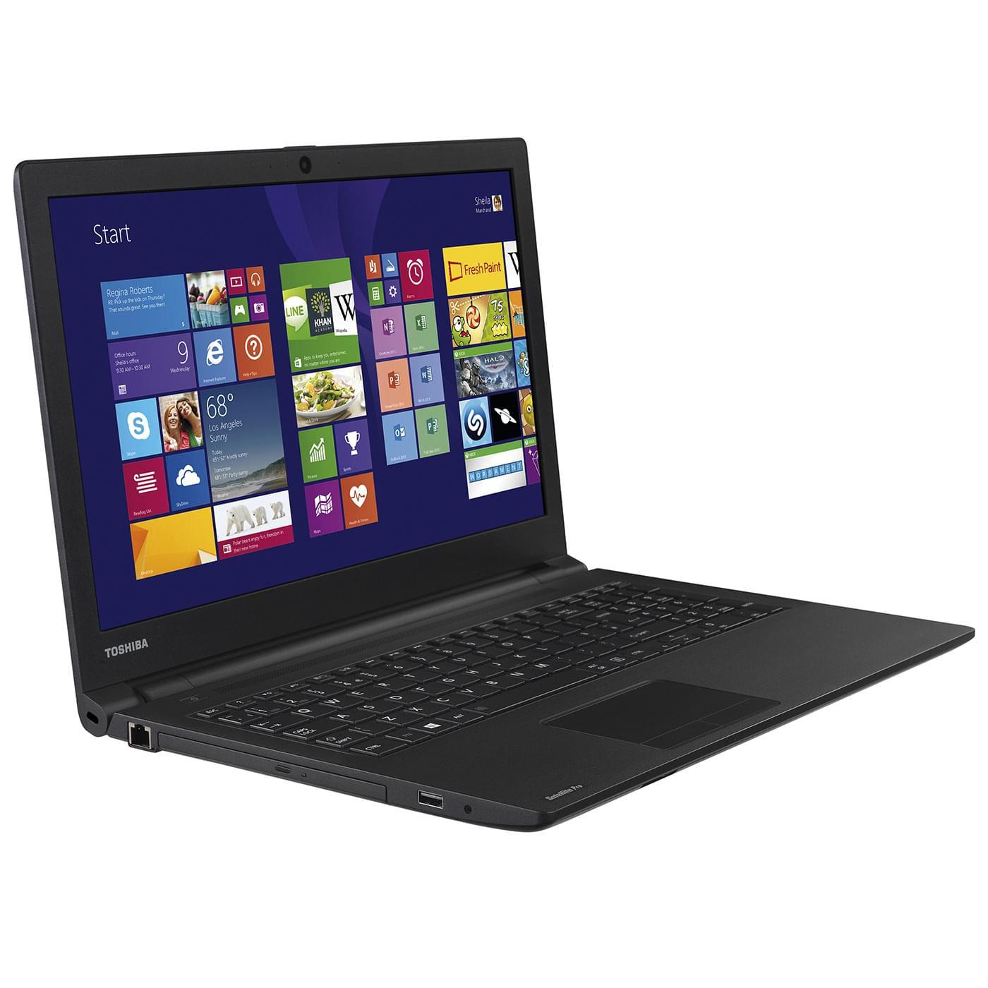 Toshiba R50-B-14P (PSSG2E-00300WFR) - Achat / Vente PC Portable sur Cybertek.fr - 0