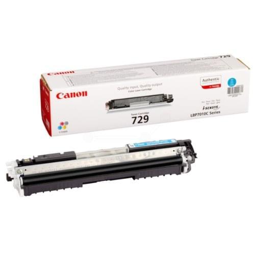 Canon Toner Cyan CRG 729 C (4369B002 FDV) - Achat / Vente Consommable Imprimante sur Cybertek.fr - 0