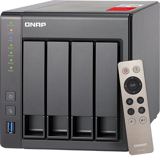 Qnap TS-451+ 2G - 4 HDD - Serveur NAS Qnap - Cybertek.fr - 0