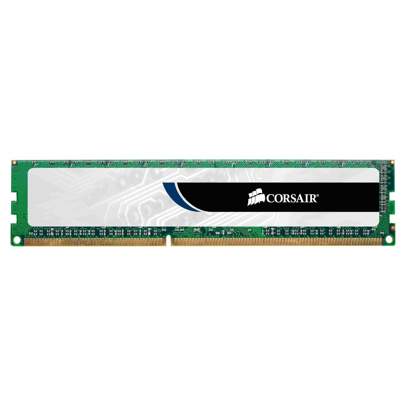 Corsair Value Select CMV4GX3M1A1333C9 (CMV4GX3M1A1333C9) - Achat / Vente Mémoire PC sur Cybertek.fr - 0