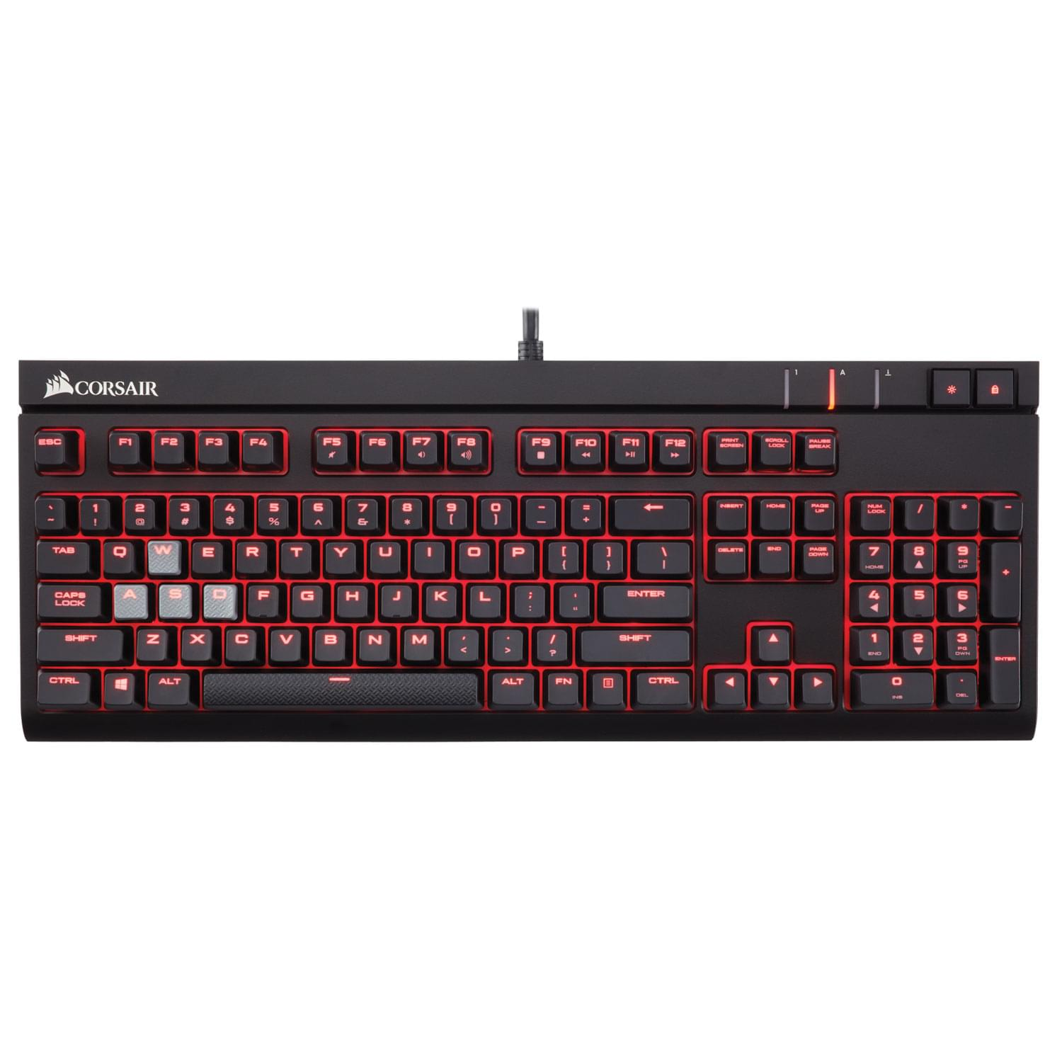 Corsair Strafe Mechanical MX Brown CH-9000092-FR - Clavier PC - 0