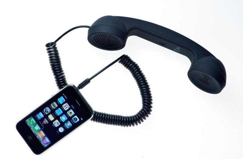 Combiné Retro Moshi Moshi pour smartphone - Noir - Accessoire téléphonie Native Union - 0