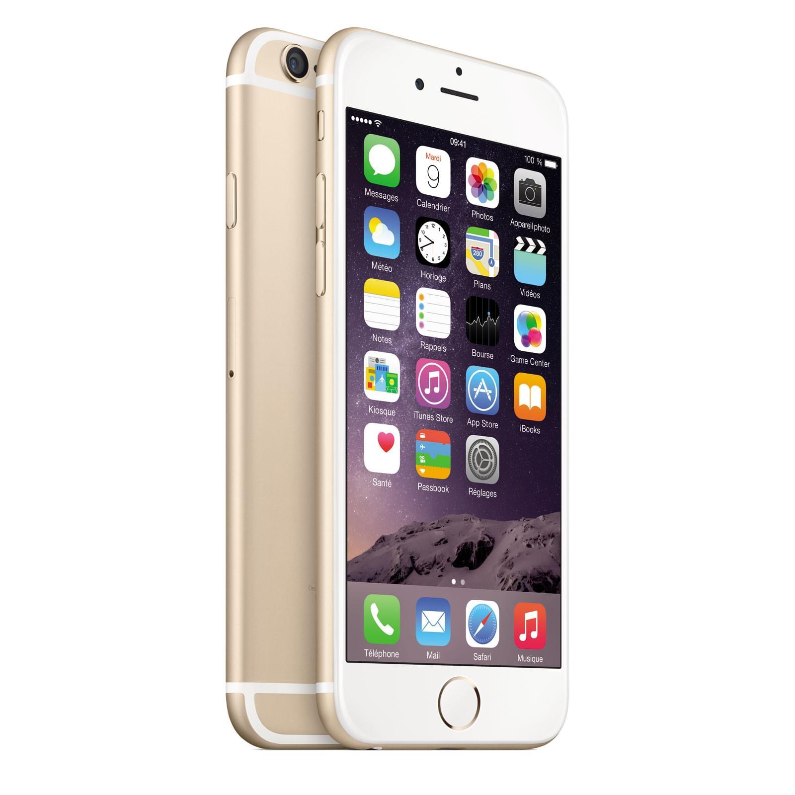 Apple iPhone 6 128Go Gold (MG4E2ZD/A soldé) - Achat / Vente Téléphonie sur Cybertek.fr - 0