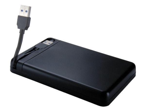Connectland USB3.0 pour DD 2'1/2 SATA Sans vis - Boîtier externe - 1