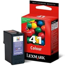 Cartouche Couleur n°41 - 18Y0141E pour imprimante Jet d'encre Lexmark - 0