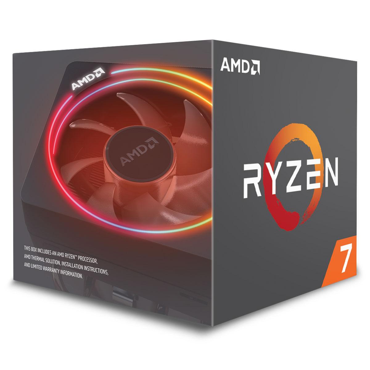 AMD Ryzen 7 2700X - 4.35GHz - Processeur AMD - Cybertek.fr - 1