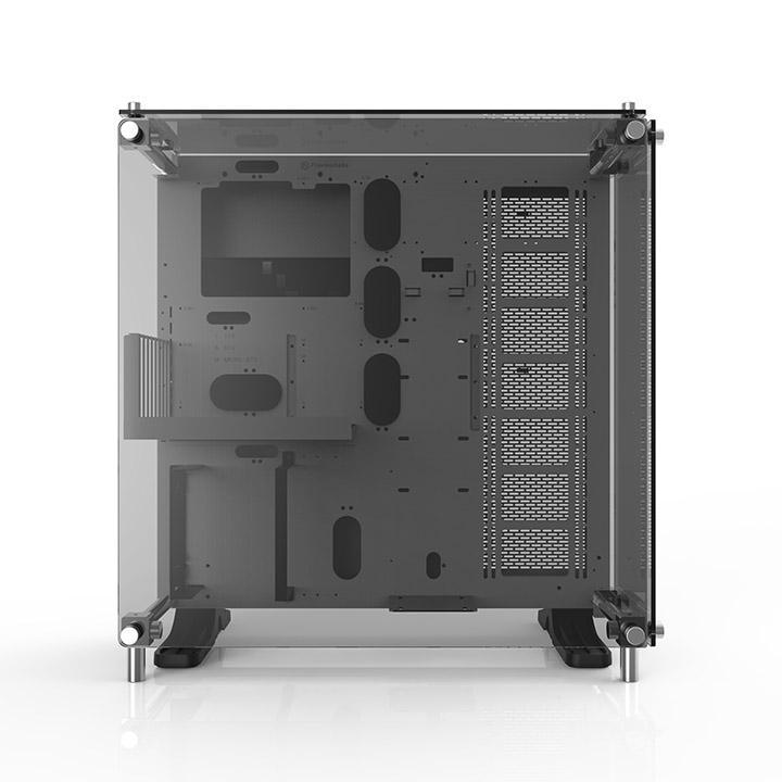 Thermaltake Core P5 Tempered Glass Snow Edition Transparent - Boîtier PC - 1