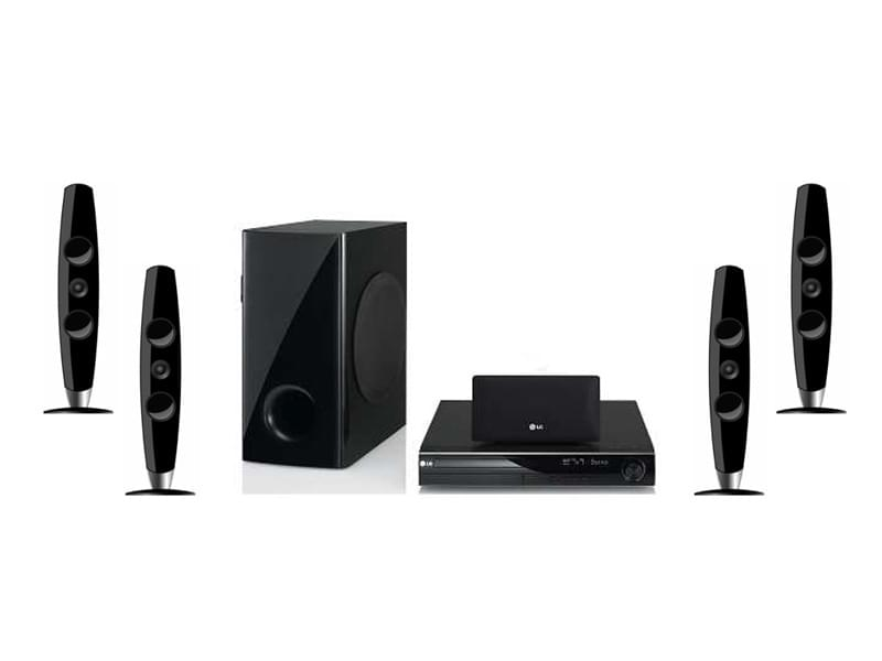 LG Home Cinema 5.1 DVD HT805TC - Achat / Vente HiFi & Home Cinema sur Cybertek.fr - 0