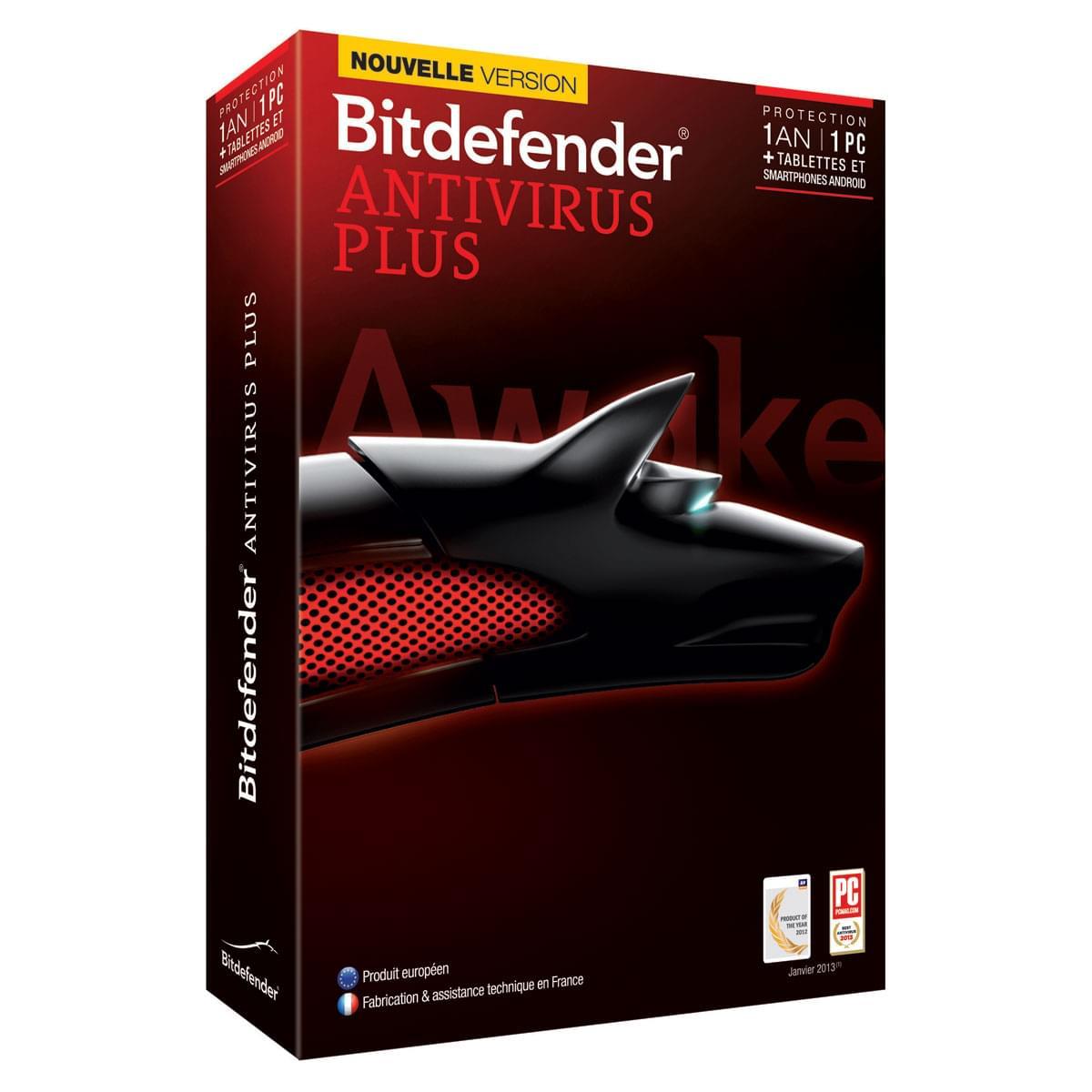 Bitdefender Antivirus Plus 2014 (B-FBDAVP4X1P001) - Achat / Vente Logiciel sécurité sur Cybertek.fr - 0