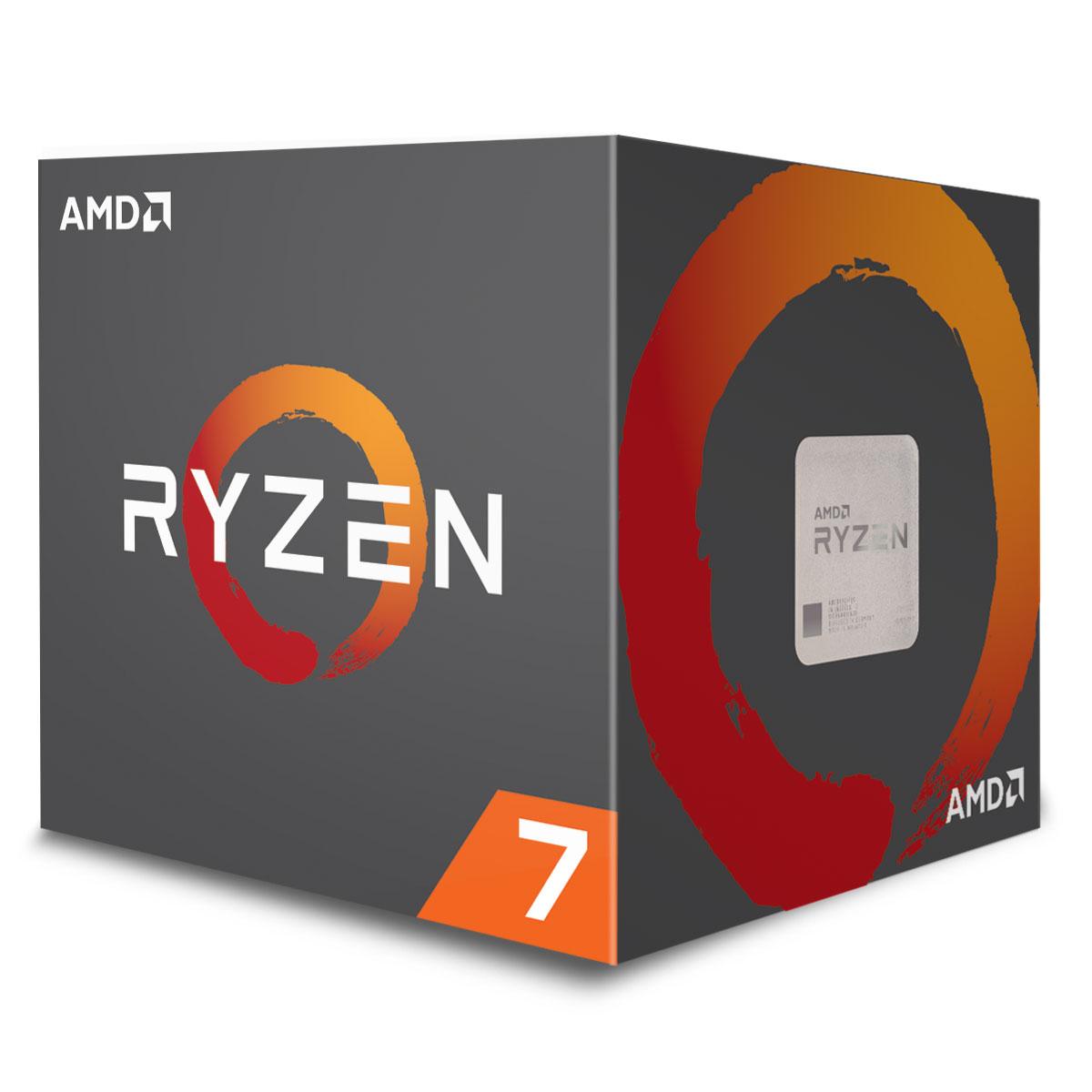 AMD Ryzen 7 2700 - 4.1GHz - Processeur AMD - Cybertek.fr - 0
