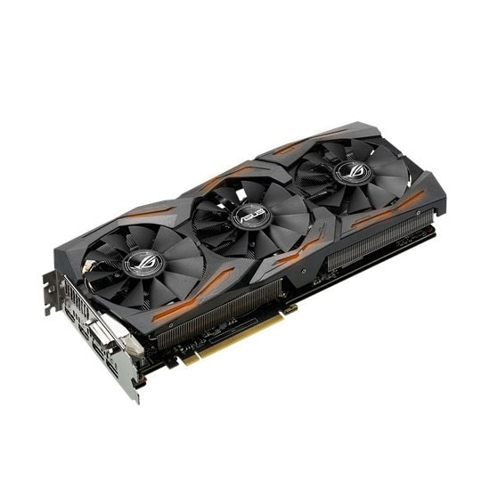Asus STRIX-GTX1080-A8G-GAMING 8Go - Carte graphique Asus - 1