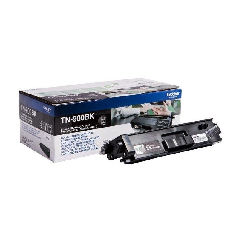 Toner Noir Très haute capacité - TN-900BK pour imprimante  Brother - 0