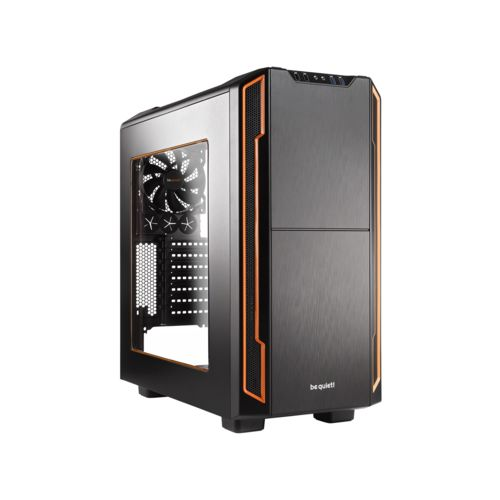 Be Quiet! Silent Base 600 Orange Window (BGW05) - Achat / Vente Boîtier PC sur Cybertek.fr - 0