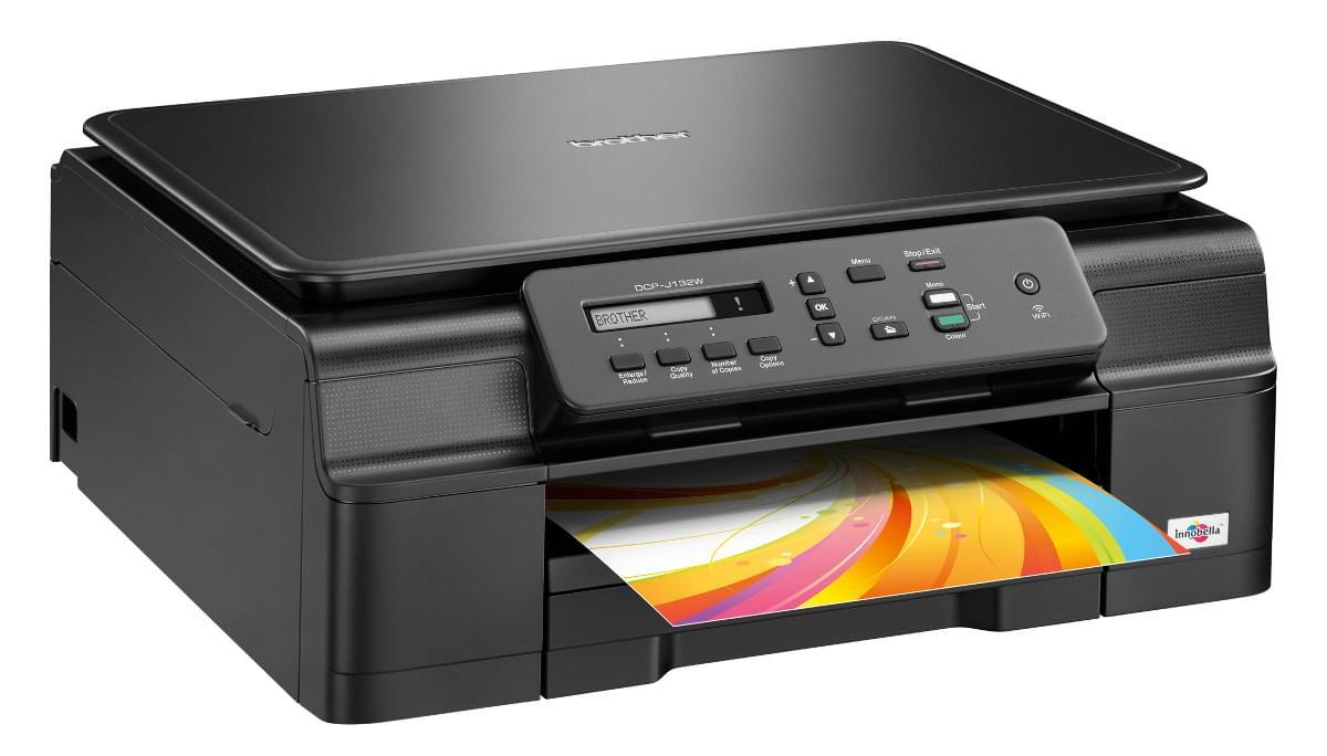 Brother DCP-J132W (DCPJ132WRF1) - Achat / Vente Imprimante Multifonction sur Cybertek.fr - 0