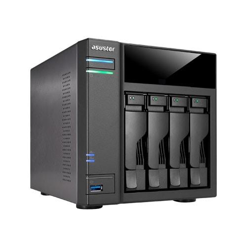 Asustor AS6104T - 4 HDD - Serveur NAS Asustor - Cybertek.fr - 0