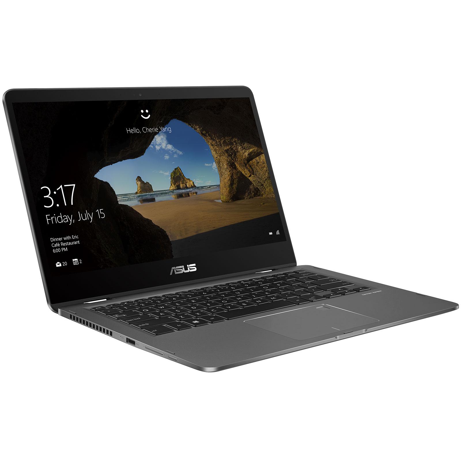 Asus ZenBook Flip 14 UX461UA E1012RB (90NB0GG1-M02090) - Achat / Vente PC portable sur Cybertek.fr - 4