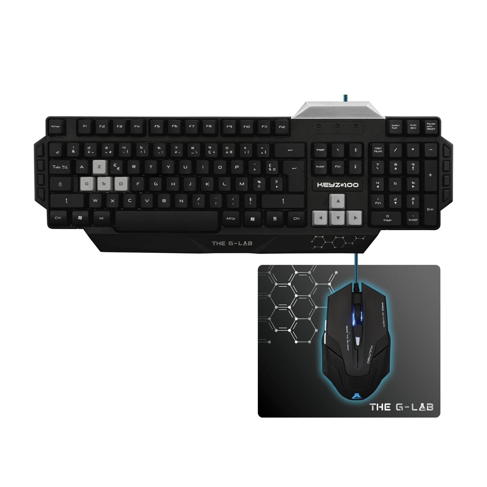 The G-LAB Gaming Combo 100 essential - Pack Clavier/Souris - 0