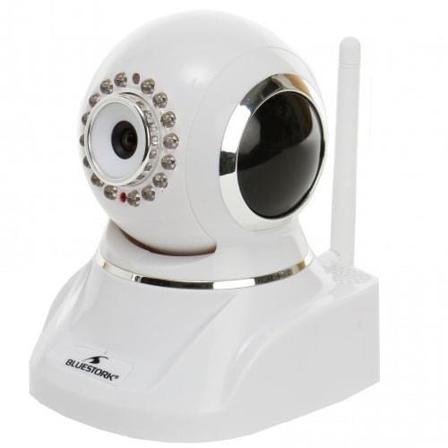 Bluestork IPCam/W2 - Wifi/Vision Nuit/320° - cam interieure - 0