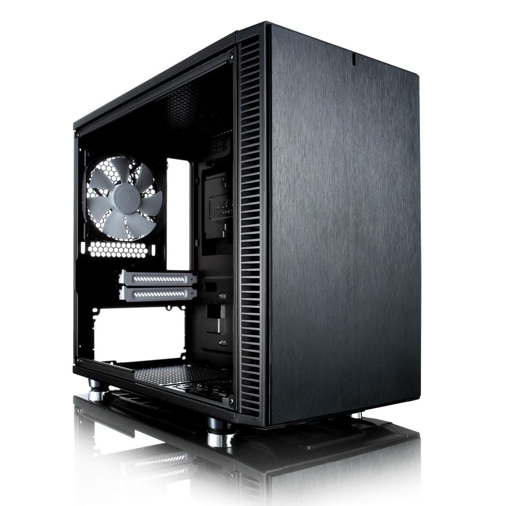 Fractal Design mT/sans Alim/ITX Noir - Boîtier PC Fractal Design - 0