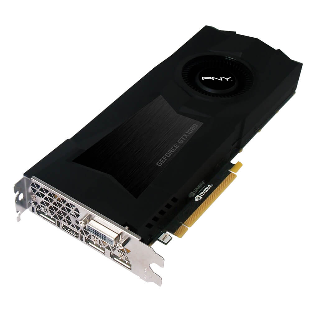 PNY GeForce GTX1080 8GB GDDR5X (GF1080GTXCD8GEPB) - Achat / Vente Carte Graphique sur Cybertek.fr - 0
