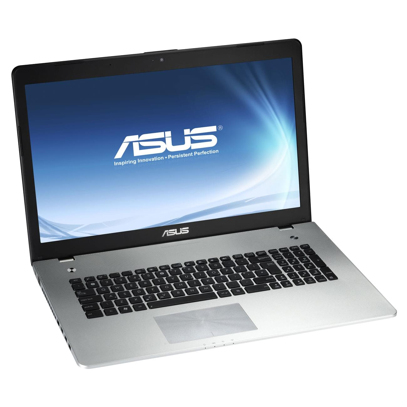 Asus N76VZ-V4G-T1153H (N76VZ-V4G-T1153H) - Achat / Vente PC portable sur Cybertek.fr - 0