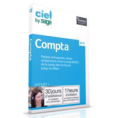 Ciel Compta 2015 (CMLCL0001) - Achat / Vente Logiciel Application sur Cybertek.fr - 0