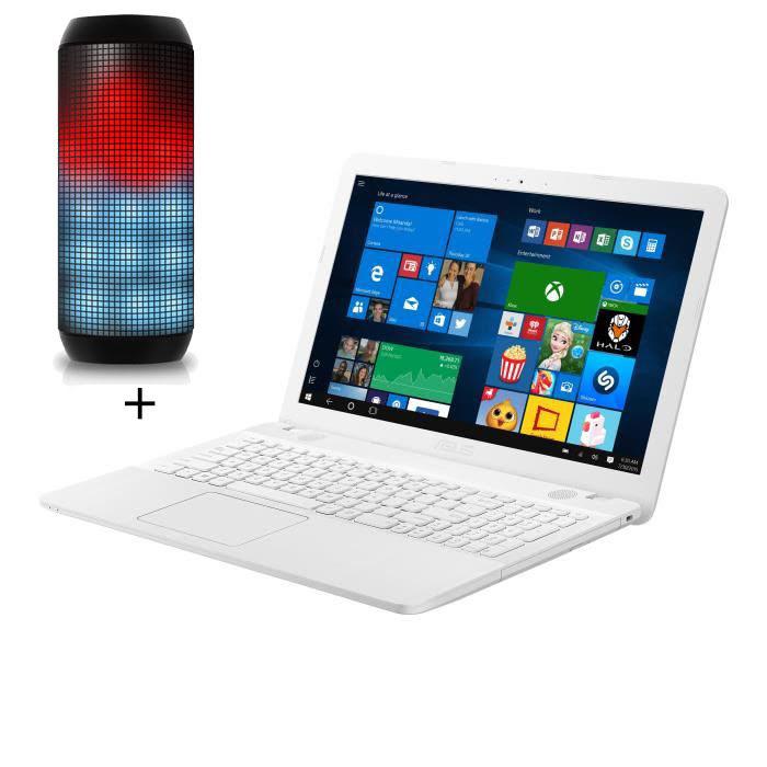 Notebook X541NA-GO179T + Enceinte DU-T900A - Cybertek.fr - 0