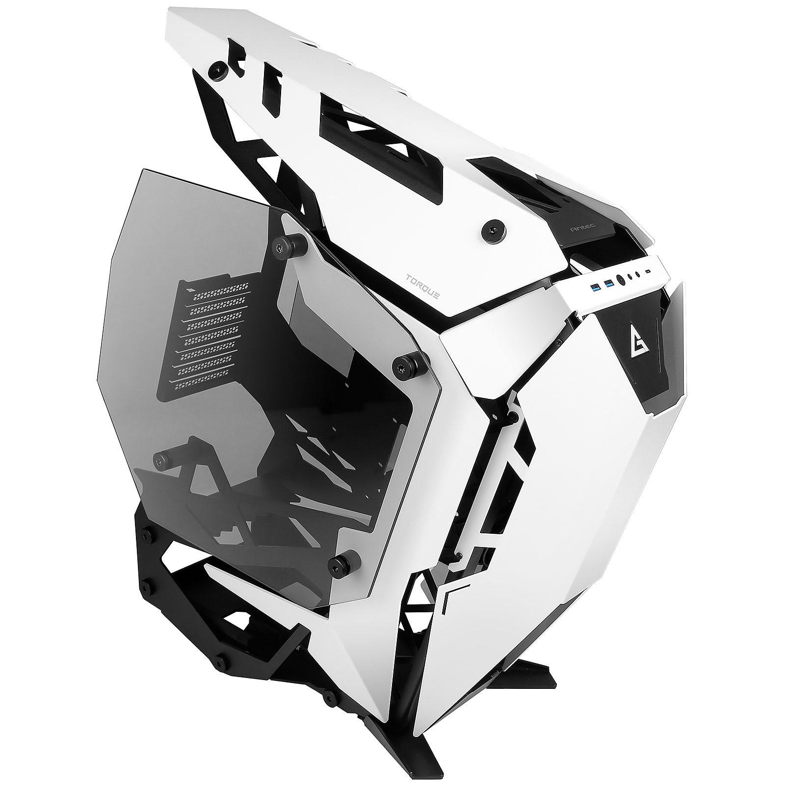 Antec TORQUE Black/White Blanc - Boîtier PC Antec - Cybertek.fr - 0