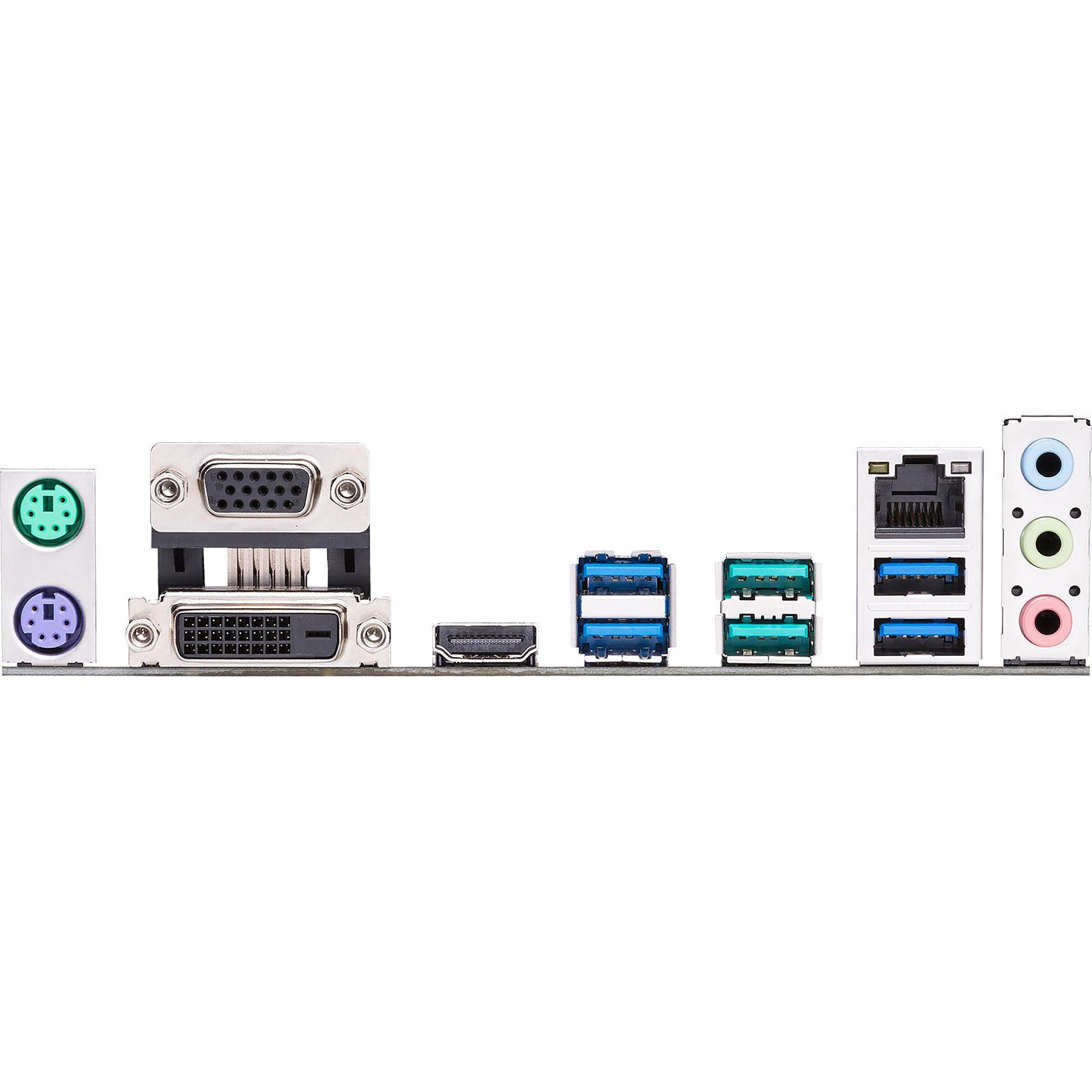 Asus PRIME B450M-A Micro-ATX DDR4 - Carte mère Asus - Cybertek.fr - 1
