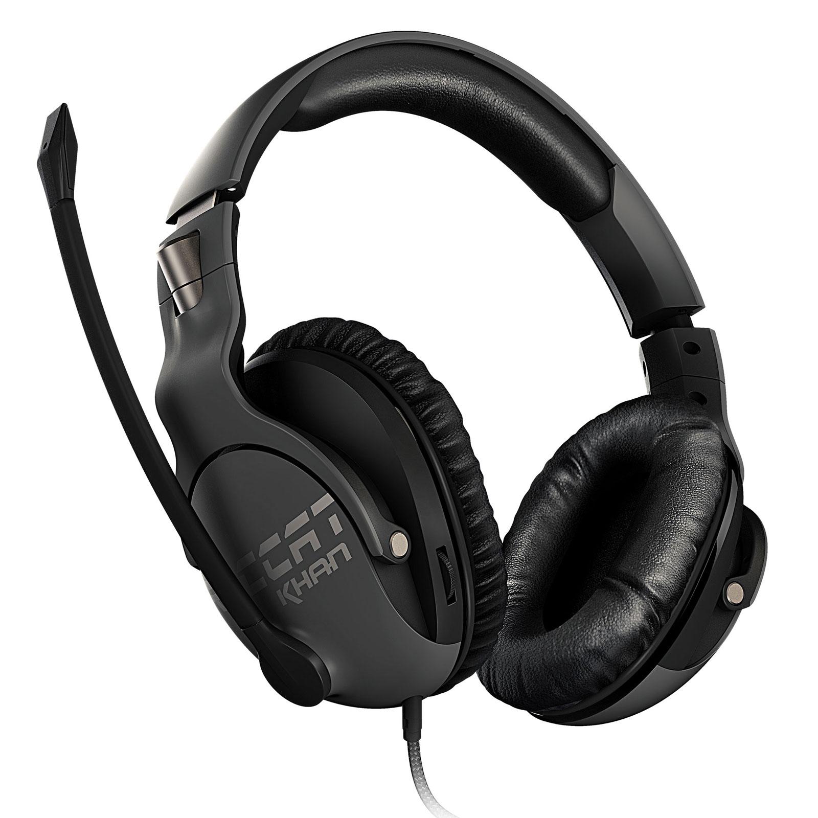 Roccat Khan PRO Gris Stereo Gris - Micro-casque - Cybertek.fr - 3