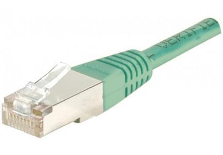 No Name Patch RJ45 cat6 FTP 15cm Vert (852530) - Achat / Vente Connectique réseau sur Cybertek.fr - 0