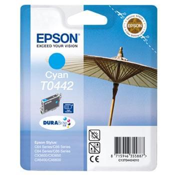 Cartouche d'encre T0442 Cyan HC 420p pour imprimante Jet d'encre Epson - 0