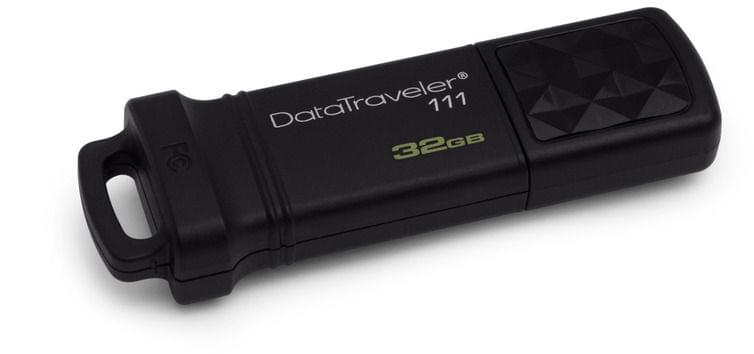 Kingston 32Go USB 3.0 KI  DataTraveler 111 - Clé USB Kingston - 0