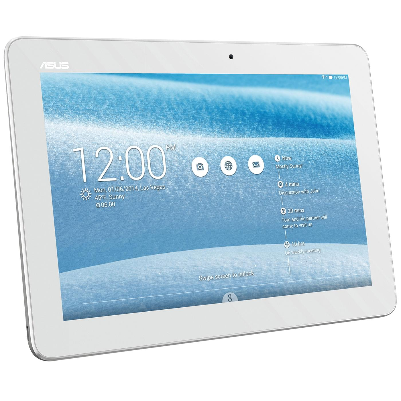 Asus ME103K-1B001A (ME103K-1B001A) - Achat / Vente Tablette Tactile sur Cybertek.fr - 0