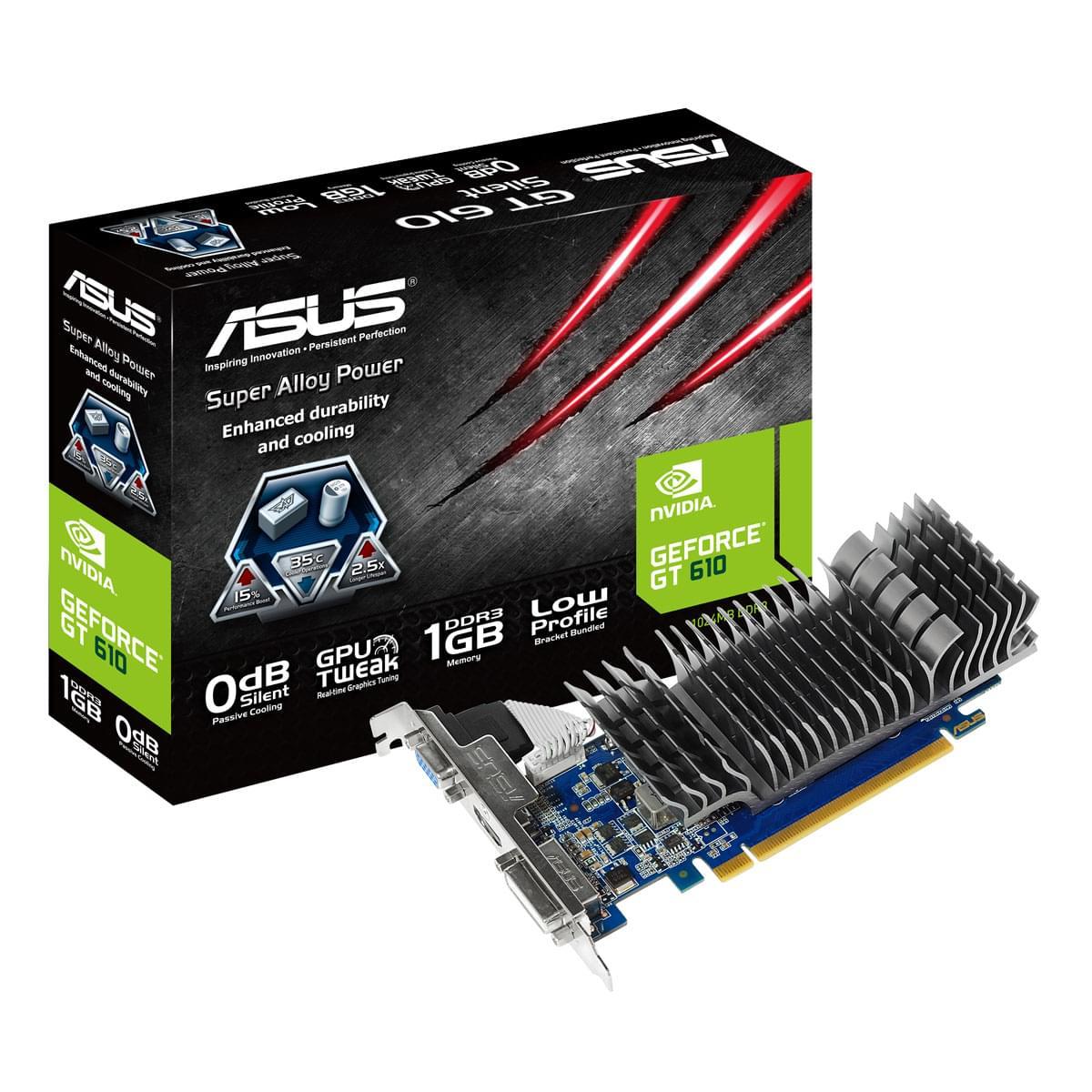 Asus  - 1Go - carte Graphique PC - GPU nVidia - 0