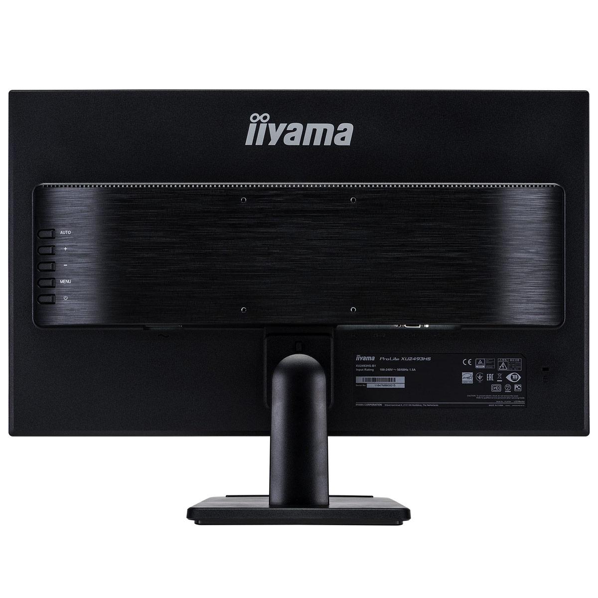 "Iiyama 24""  XU2493HS-B1 - Ecran PC Iiyama - Cybertek.fr - 1"