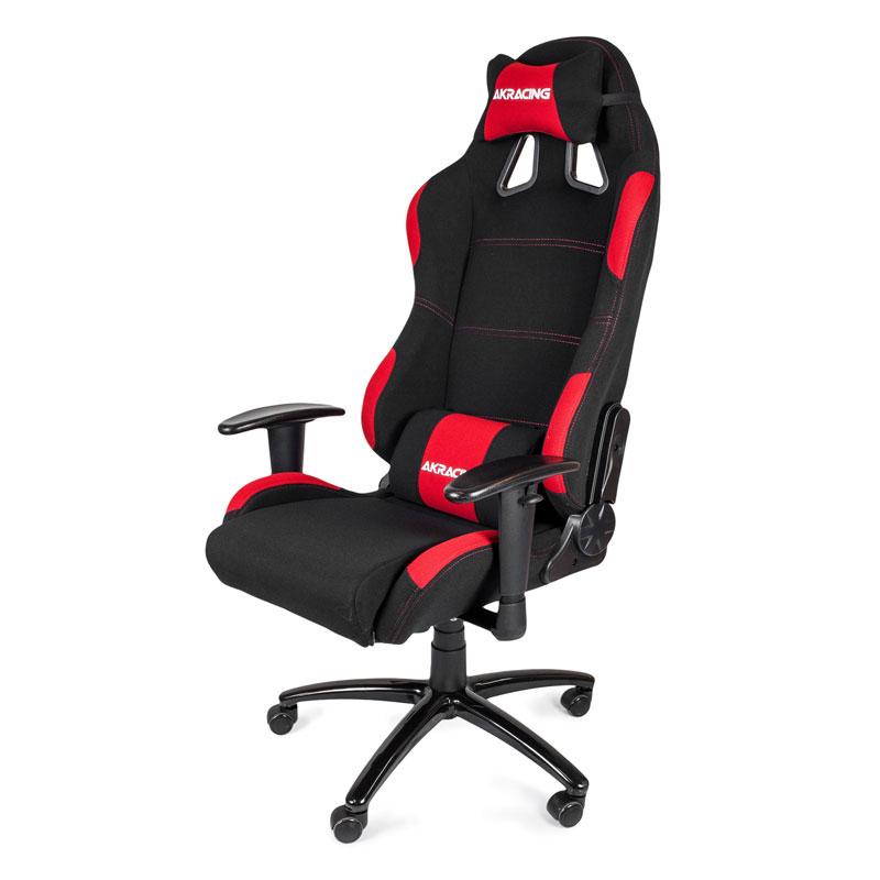 AKRacing Gaming Chair K7012 Noir/Rouge - Siège PC Gamer - 1